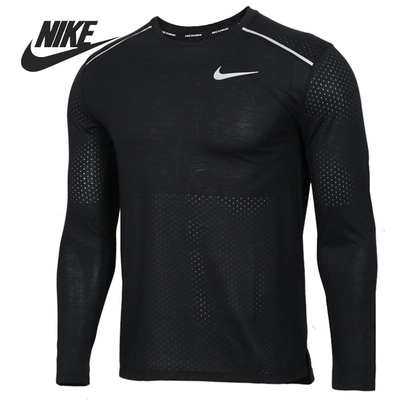 Original New Arrival  NIKE AS M NK BRTHE RISE 365 LS  Men's T-shirts Long sleeve Sportswear