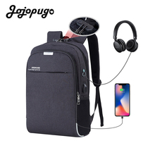 Jojopugo 2020 Fashion Korean Unisex Backpack Oxford Cloth Business Laptop Men Backpack School Bag for College Students #B0002