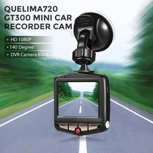 Mini DVRs Car DVR GT300 Camera Camcorder 1080P Full HD Video Registrator 140 Degree Parking Recorder Loop Recording Dash Cam(China)