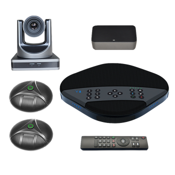 Hermecury SV3 Video Collaboration System Multi-party Conference Speakerphone with 1080P Camera