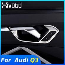 Hivotd Voor Audi Q3 2020 2019 Accessoires Rvs Inner Deurklink Trim Auto Innerlijke Handvat Deur Cover Interieur Decoratie