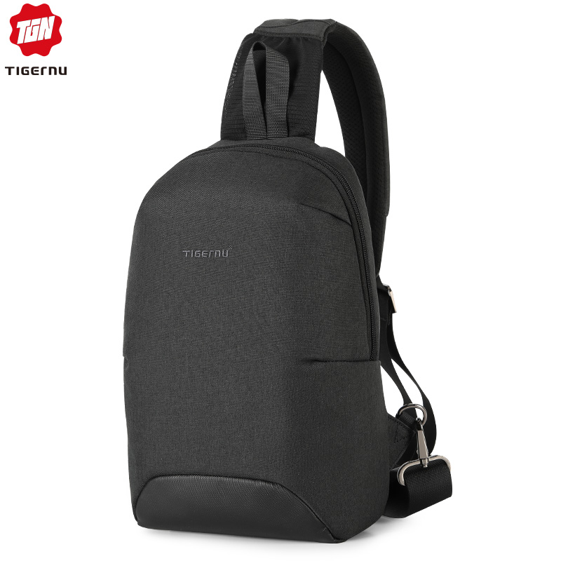 Tigernu Fashion RFID Crossbody Bag For 7.9 Inch Ipad Casual Men Chest Pack Unique Design Shoulder Bags Anti Theft Back Bag