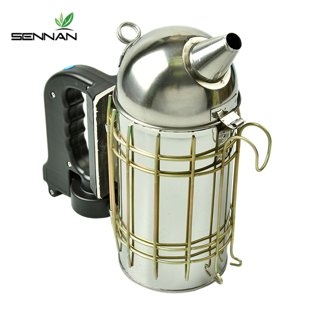 Stainless Steel Electric Bee Smoke Transmitter Apiculture Kit 3