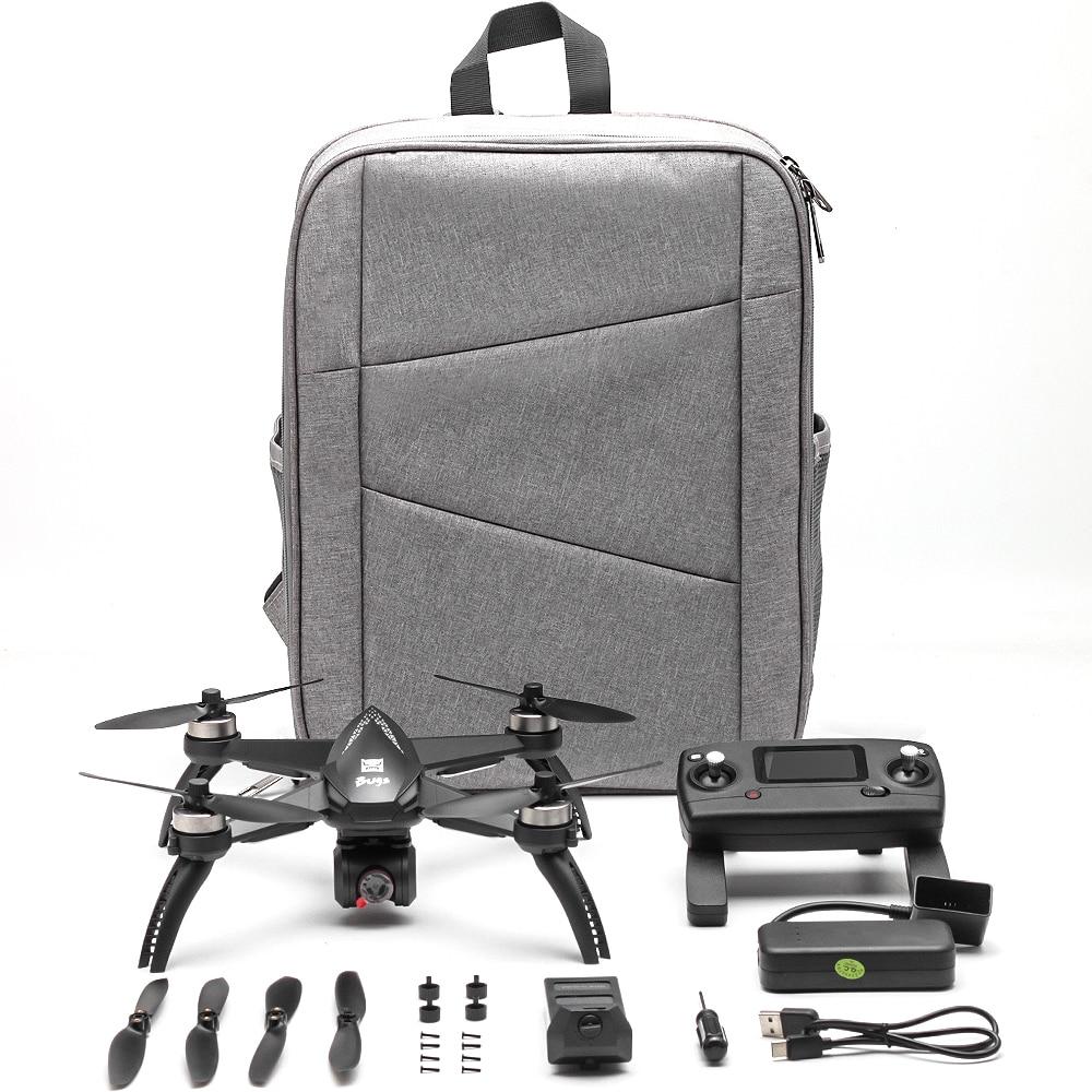 Профессиональный бесщеточный двигатель gps Дрон MJX B5W Дроны с камерой HD 4K 1080P 5G wifi FPV камера RC вертолет Квадрокоптер - 6
