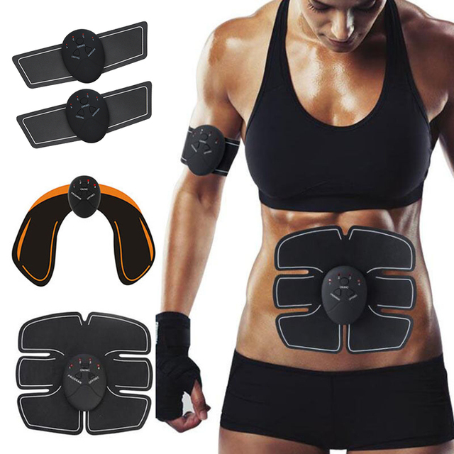 Trainer Muscle Stimulator ABS Fitness Abdominal Weight loss Body Massage