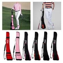 Golf Club Bag Pack Holder Putter Carrier Carrying Pack Golfer Pencil Gun Bag Shoulder Strap Club Case Driving Ranges Men Women