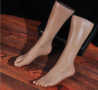New Style Silicone Sexy Mannequin Foot Model Male Foot Dummy On Sale