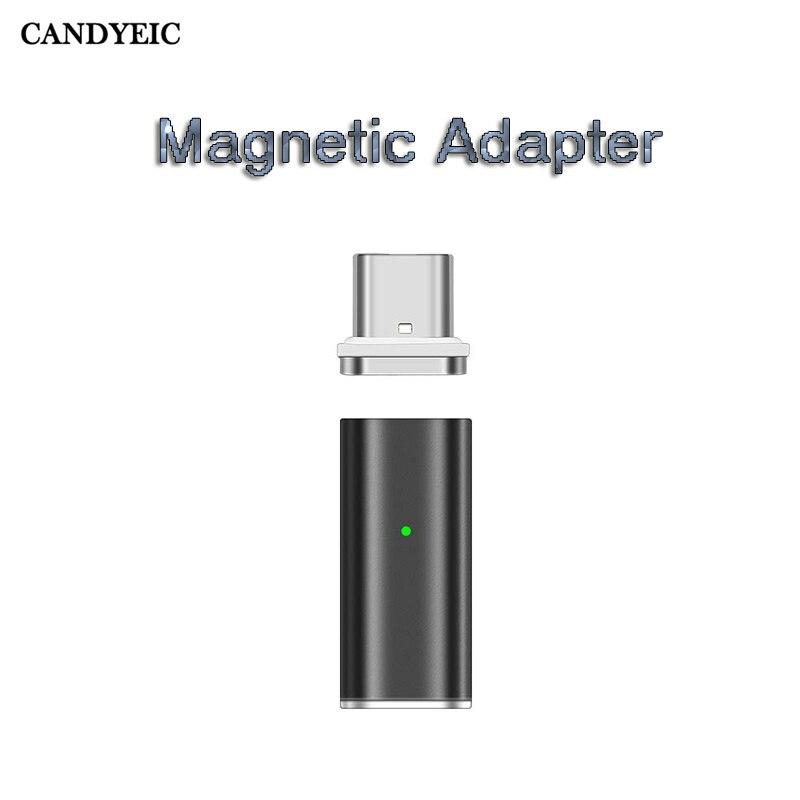 Магнитный адаптер USB Type C для Huawei P30 Pro P20 Pro P10 USB C зарядное устройство для Huawei Mate 20 Pro Mate X Nova 4e Магнитный USB|adapter type c|adapter 1/2type c magnetic | АлиЭкспресс