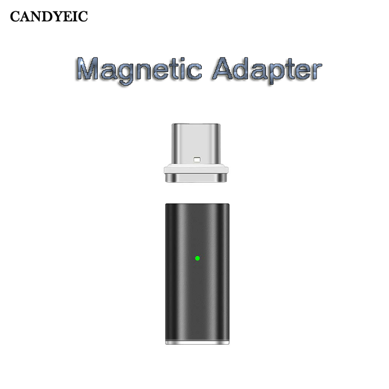 Mobile Phone i6 Magnetic Adapter For iPhone 6s Plus 6 5s 5 SE iPad Cable, Metal Charger For iPhone Lightning Cable