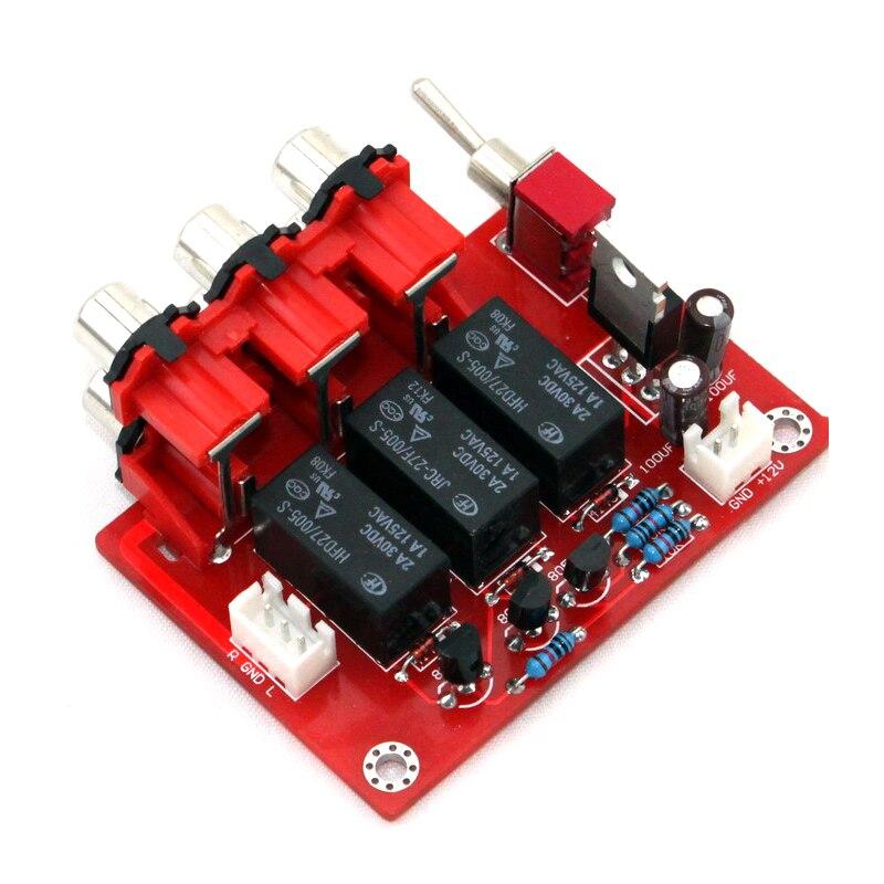 Placa de interruptor de entrada de áudio amplificador de áudio
