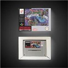 거북이 IV 거북이 시간 EUR 버전 액션 게임 카드 소매 상자