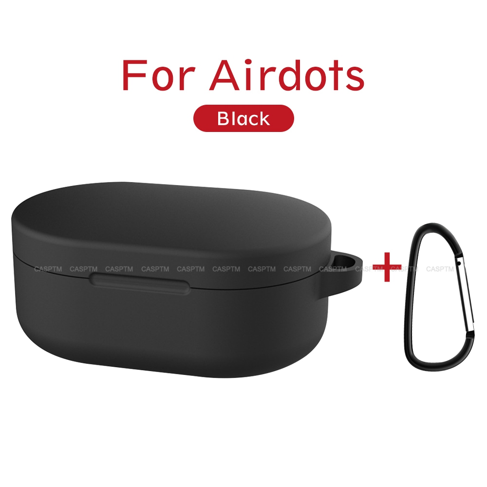 Candy Color Earphone Case For RedMi Airdots Wireless Bluetooth Protective Case Cover For Red Mi Airdots Earphone Case Accessorie