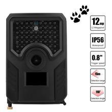 Wodoodporna kamera obserwacyjna myśliwska 1080P 12MP Wildlife kamera wideo kamera na podczerwień kamera noktowizyjna kamera myśliwska