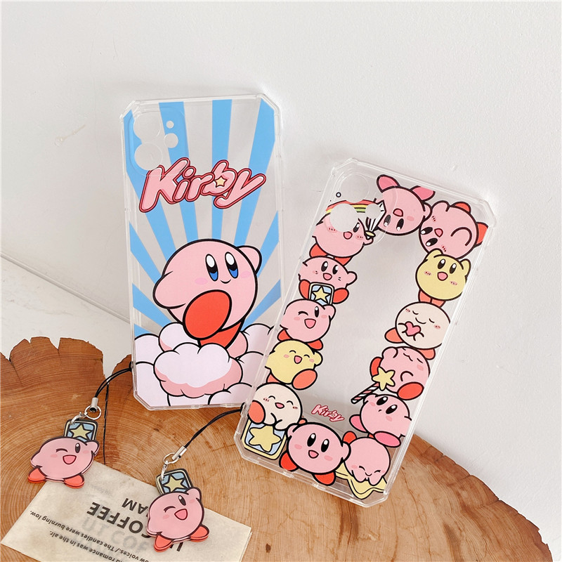 Kawaii  Kirby Star Allies iPhone Case  2
