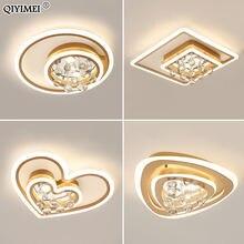 Современная хрустальная люстра Светильники для спальни гостиной