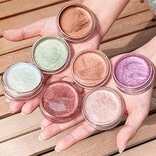 Internet celebrity Eyeshadow Crystal Gel High-gloss Liquid Monochrome Sequins Ins Super Flash Powder Make-up Palette