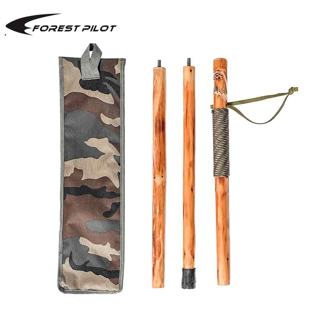 Desmontable en bast/ón bast/ón de senderismo bast/ón inoxidable Madera Cobra Capit/án Stock 90/cm M79/Walking Stick