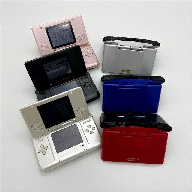 مجددة باحترافية لوحدة تحكم ألعاب نينتندو DS لنظام نينتندو DS لعبة فيديو لعبة النخيل مع R4 وبطاقة ذاكرة 32 جيجابايت