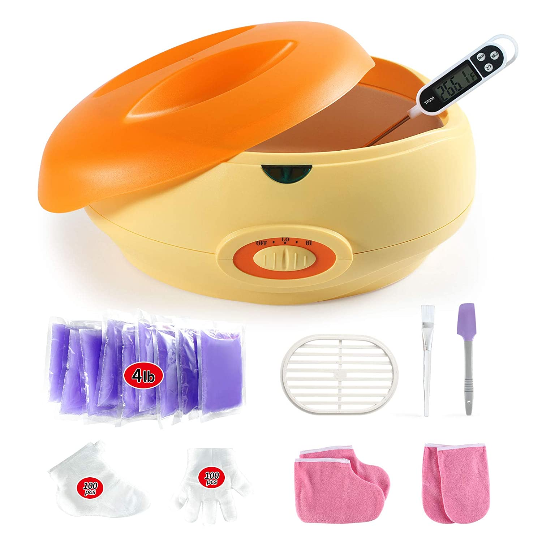 Paraffin Wax Heater Wax Hand SPA Wax Machine and Wax Body Hand Foot Skin Care Baths Wax Warmer Hair Removal Machine EU or US110V