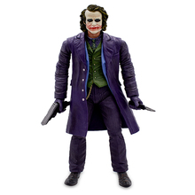 купить 12'' 31CM NECA The Joker Batman Brinquedos Articular Movable Action Figure Venom PVC Collectible Model Toys Kids Gifts дешево