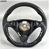 Volante de fibra de carbono do carro para porsche cayenne 2009|Volantes e cubos de direção| |  -