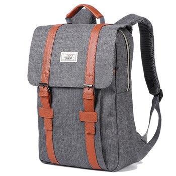 2020 mochilas de lona Vintage para hombres y mujeres, mochilas escolares para adolescentes, mochila para ordenador portátil de gran capacidad, mochila de moda para hombres
