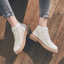 Высокие кожаные ботинки; Ботинки martin; Новый сезон; Короткие