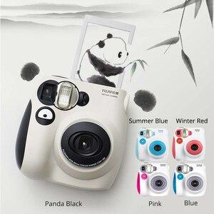 Image 1 - 100% Authentieke Fujifilm Instax Mini 7 S Instant Photo Camera, Werken Met Fuji Instax Mini Film, goede Keuze Als Aanwezig/Gift