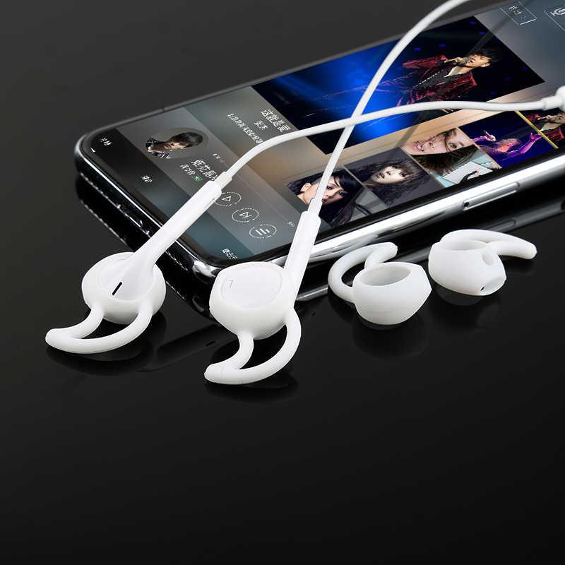 רך סיליקון ספורט החלפת Earbud טיפים עבור IPod IPhone 6 / 6 בתוספת/5/5S / 5C אפל אוזניות אוזניות Earpods TXTB1