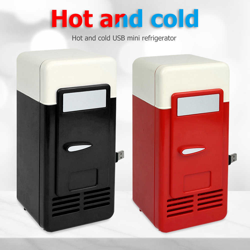 4L Mini Tủ Lạnh Ấm Tủ Đông Đa năng 12V Du Lịch Tủ Lạnh USB Tủ Lạnh Ngăn  Đông Làm Lạnh Làm Nóng Tủ Lạnh 2 trong 1|