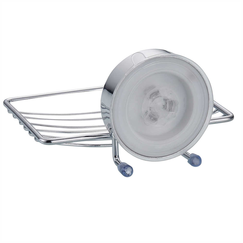 Paslanmaz çelik vantuz banyo sabunluk duş sabunluğu banyo tepsisi aksesuarları kutusu raf duvar yemekleri rafları