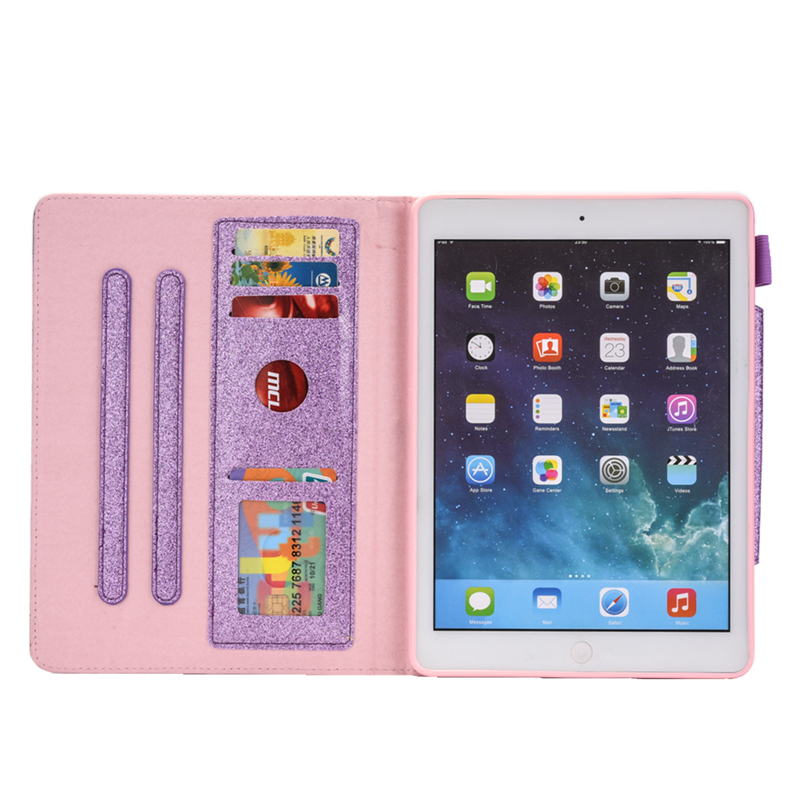 For inch Cover Funda 2019 7th 10.2 10.2 Case iPad Glitter Coque Bling For iPad Leather