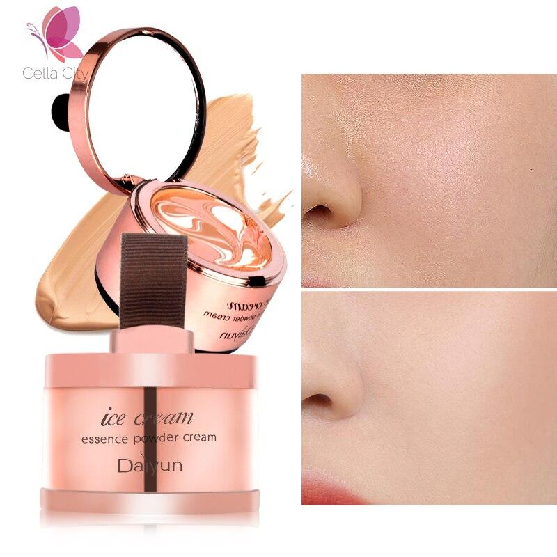 Cellacity Essência Fundação Creme Corretivo Maquiagem Nua Hidratante Branqueamento Impecável Para O Rosto de Beleza Maquiagem De Base