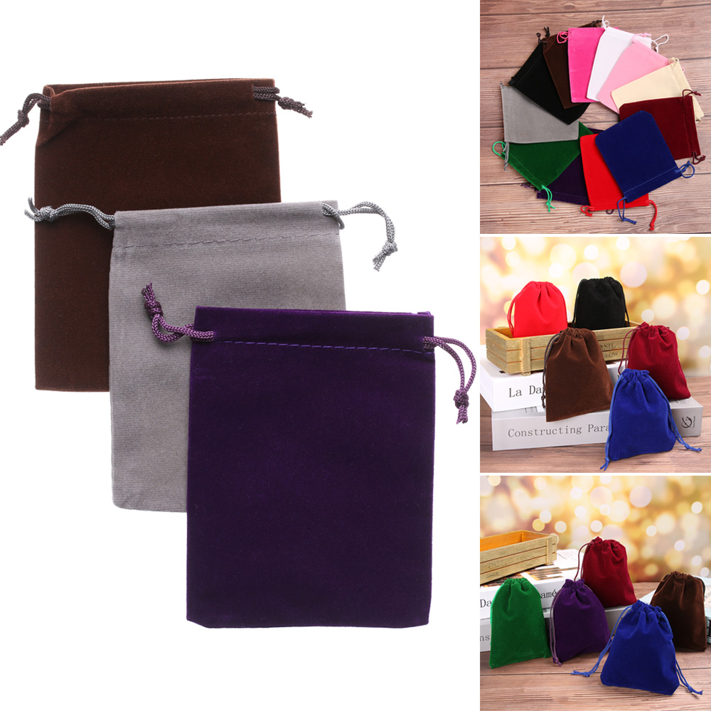 Gift Storage Velvet Small Dice Storage Jewelry Pouch Pouch Bag Gift Bag