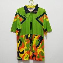 Retro méxico 1994 jorge campos colorido vintage camisa clássico jerseys