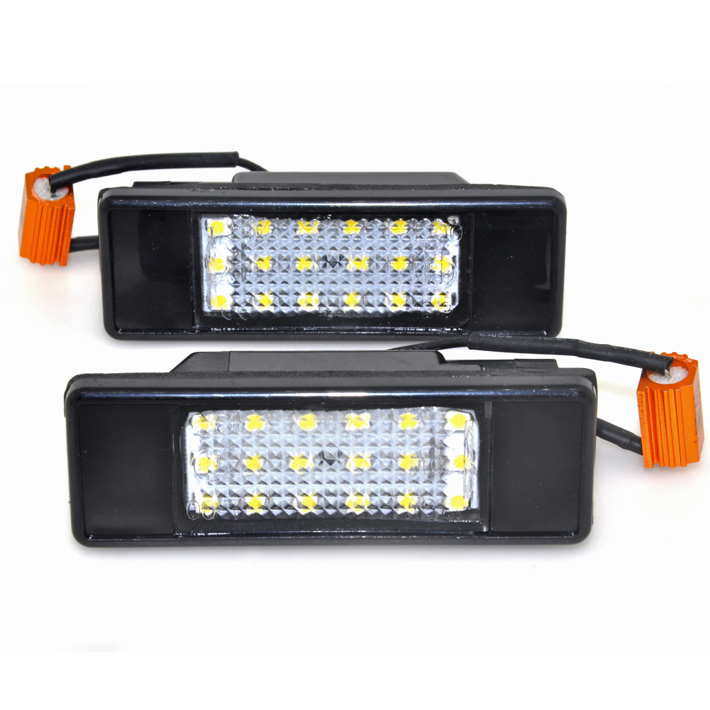 2Pcs Canbus Rear LED Number License Plate Light Kit For Mercedes W639 VITO VIANO(03-15), W906 Sprinte(06-16)