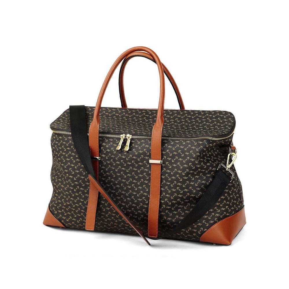 Waterproof Travel Bags Luxury Duffle Bag Luggage Bag Business PVC Handbag sac a main Women Shoulder Bag Large Fitness bolso|Buckets| - AliExpress