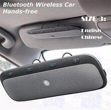 цена на TZ900 Sun visor Multipoint Wireless Bluetooth Handsfree Calling Car Kit Speakerphone Audio Music Speaker For Smartphones