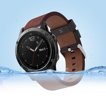 все цены на Yayuu Strap for Garmin Fenix 6/Fenix 5/5 Plus/Forerunner 935/945/Approach S60/Quatix 5 Quick Release Genuine Leather Wrist Strap