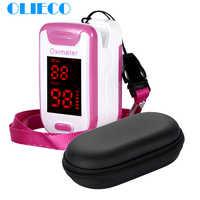OLIECO Neue Finger-pulsoximeter Mit Fall Fingertip Oximetro de pulso de dedo Mini SPO2 PR Monitor Blut Saturometro Monitor CE