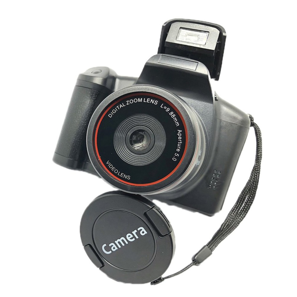 H6b109ee216e44a5f9b3aa0be3b6855aeo XJ05 Digital Camera SLR 4X Digital Zoom 2.8 inch Screen 3mp CMOS Max 12MP Resolution HD 720P TV OUT Support PC Video