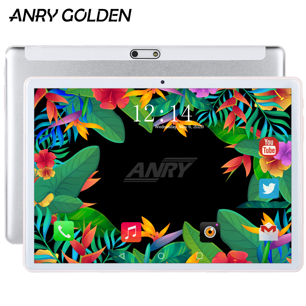 ANRY 10.1 Inch Tablet Android 7.0 3G Phablet Quad Core MTK6580 1280 X 800 IPS 1+16 GB Dual Wifi Camera 10 Tablet