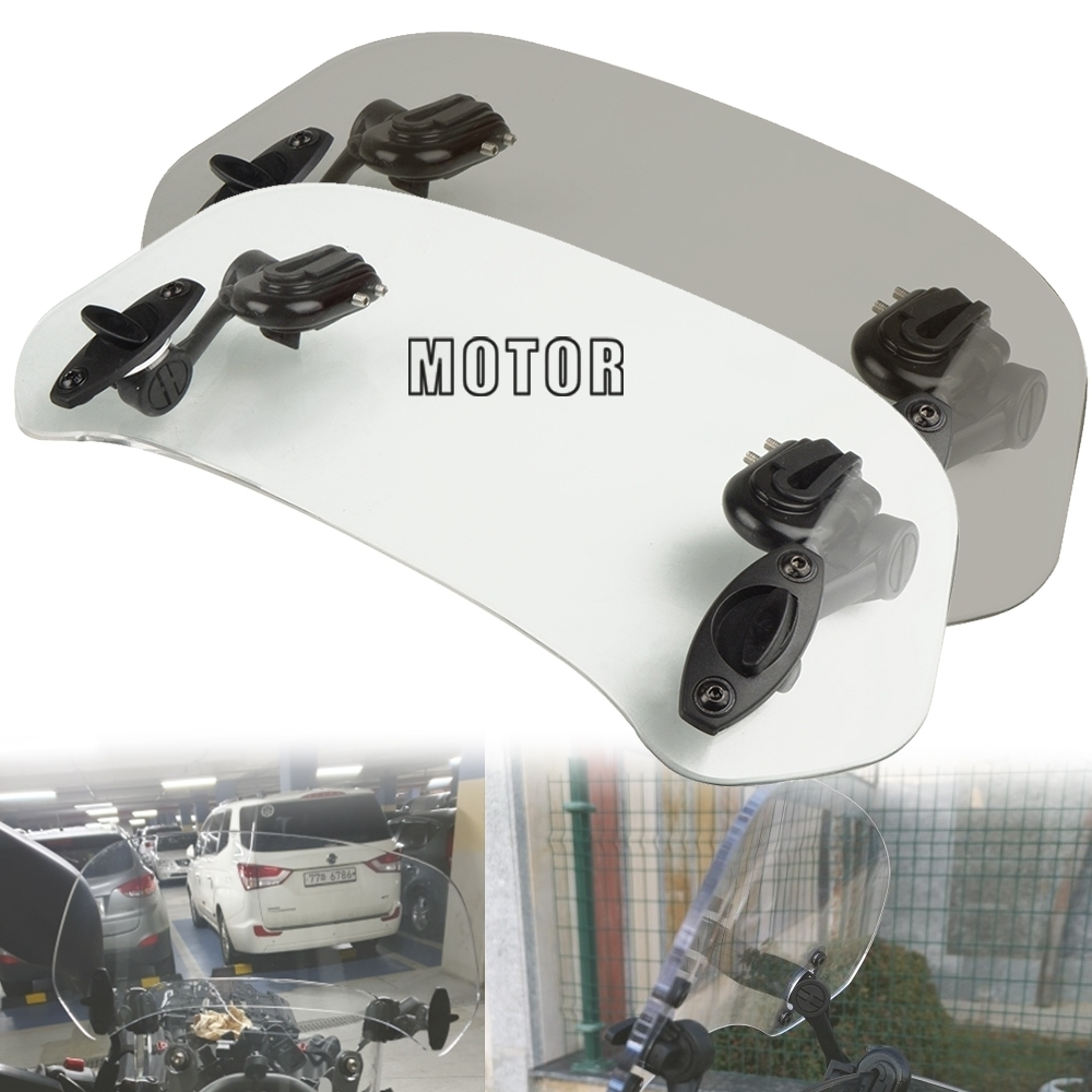 Motorcycle Windshield Risen Air Deflector Adjustable Wind Screen For <font><b>BMW</b></font> S1000XR S1000RR <font><b>S1000R</b></font> HP4 2014 2015 2016 2017 <font><b>2018</b></font> image