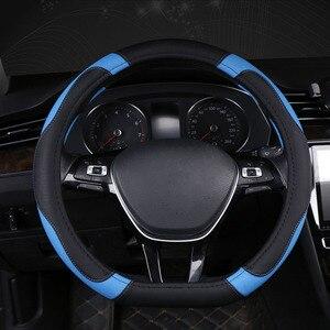 Image 5 - D Typ Auto Auto Lenkrad Abdeckung Wrap Volant Für Kia K5 Ceed GT Stonic Gehen Sportage 2021 2020 2019 2018 2017 GT Sport