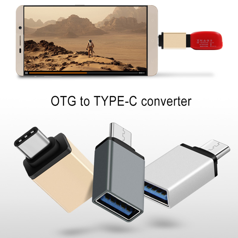Type-C To USB 3.0 OTG Cable Adapter Type C Converter For Samsung Huawei P20 OTG Adapter HJ55