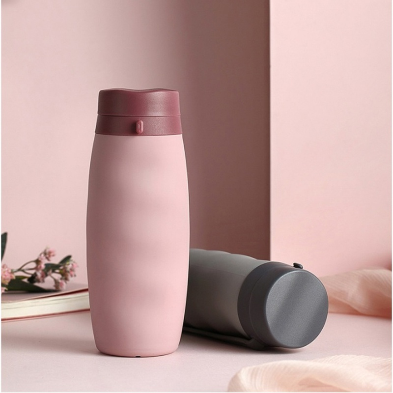 Foldable Drinkware Water Bottle For Travel Kitchen Supplies Household 600ML Portable Unique Silicone Water Bottle For Sports|Water Bottles|   - AliExpress