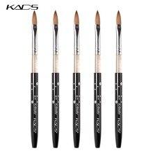 KADS – ensemble de pinceaux à ongles en acrylique, 10 pièces, tailles 2,4,6,8,10