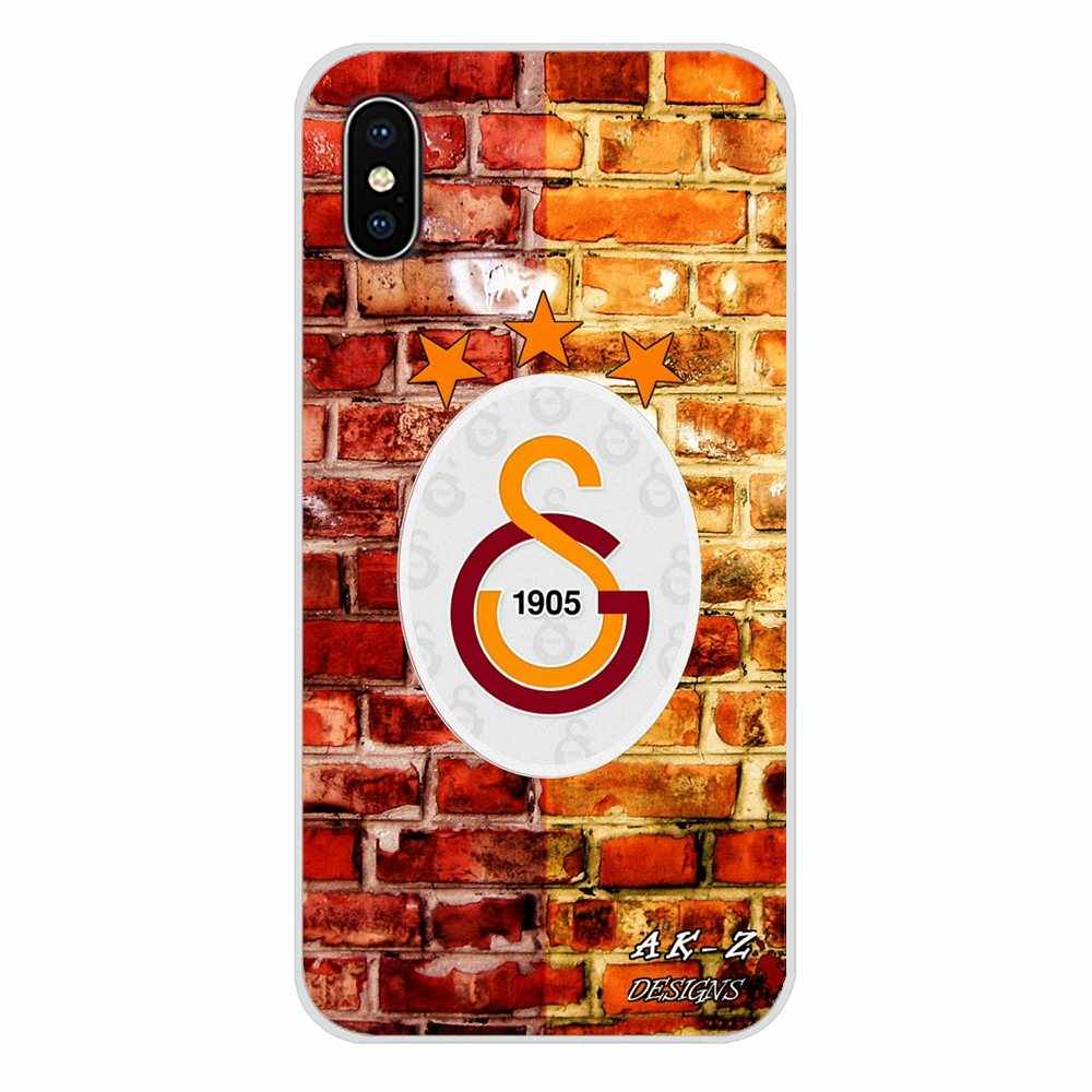Accessoires Telefoon Shell Cover Galatasaray Turkije S.K. FC Logo Voor Samsung Galaxy A3 A5 A7 A9 A8 Ster A6 Plus 2018 2015 2016 2017