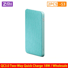 ZMI Power Bank 10000mAh QC3.0 PD Type-C PD Two-Way Quick Cha