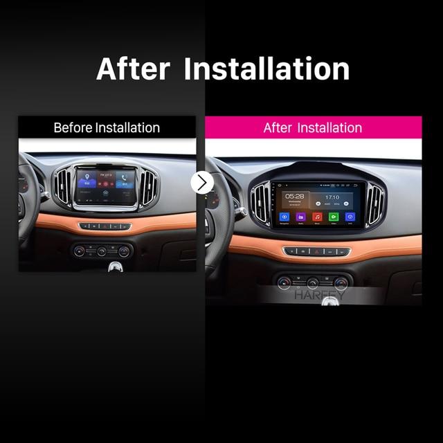 Harfey Android 9.0 GPS Navigation Carplay car Radio for Chery Tiggo 7 2016-2018 HD Touchscreen USB support TPMS DAB+